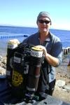 Kris Harrison Megalodon rebreather instructor