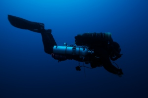 Megalodon Rebreather diving Mexico