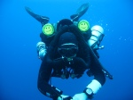 Rebreather instructor Kris Harrison TDI IT